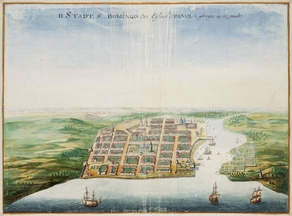 PLANO DE SANTO DOMINGO 1665
