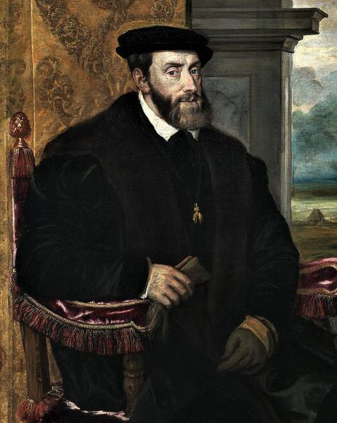 Carlos V, por Tiziano.