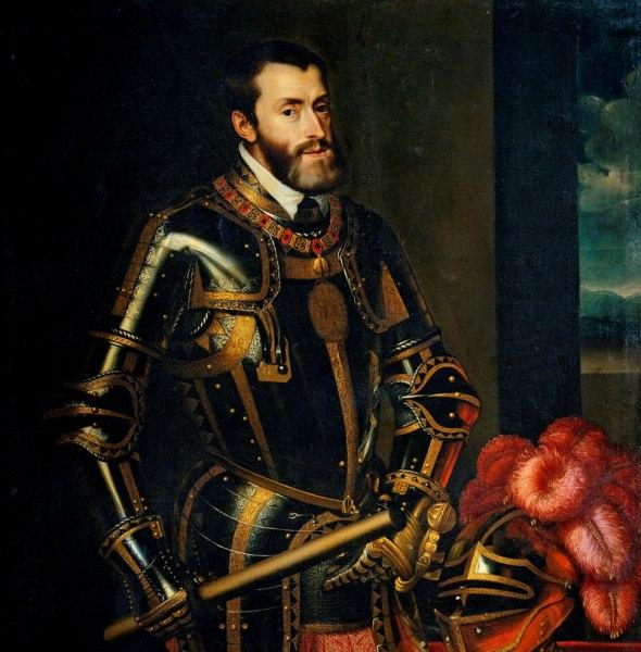 Carlos V por Juan Pantoja