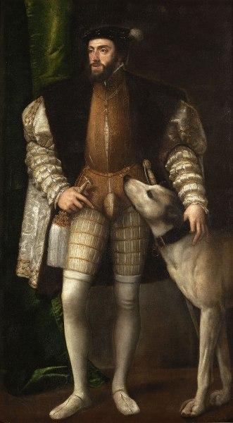 Carlos V por Tiziano