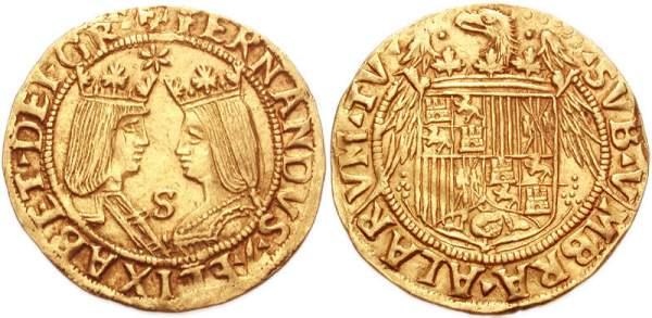 Excelente de los Reyes Católicos de 1504.